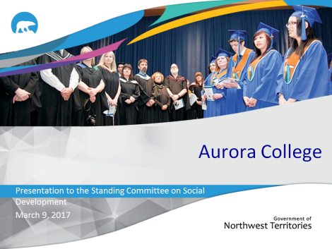 Aurora College slide covert